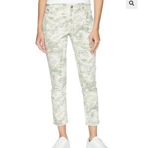 Nine West Gramercy Skinny Crop Camo Jeans NWOT